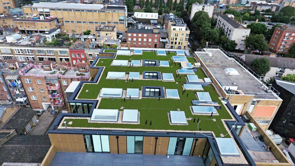 Britannia House Hanbury Street London E1 Df Roofing